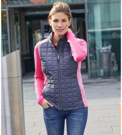 JN739 - Ladies Knitted Hybrid Vest